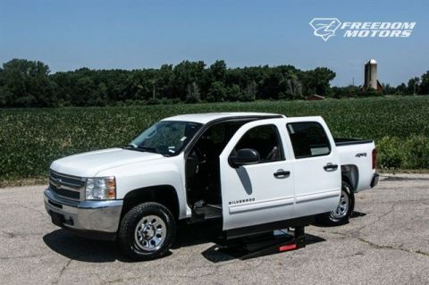 Pre-Owned 2012 Chevrolet Silverado 1500 LT Accessible Truck