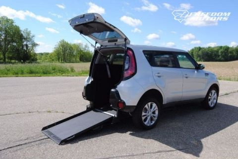 2016 Kia Soul + Wheelchair Accessible Car #23083