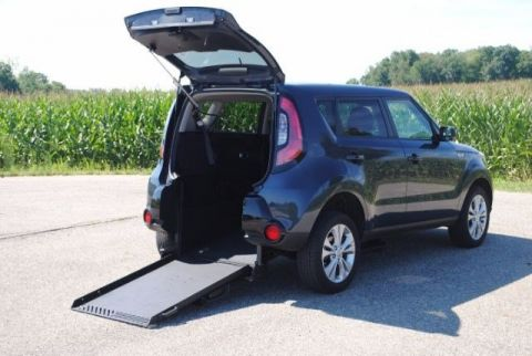 2016 Kia Soul + Wheelchair Accessible Car #23322