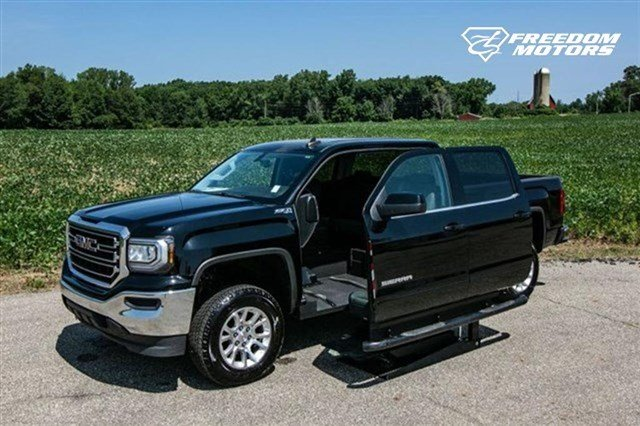 Pre-Owned 2017 GMC Sierra 1500 SLE Wheelchair Accessible Truck